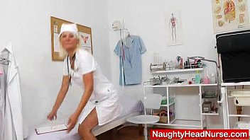 with of female plays school nurse student balls Passionate tribbing and kissing