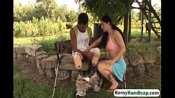 luv leah man lucky fucked older A perverse skinny babe
