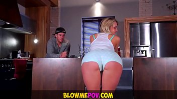blows with guy mouth asian A happy ending