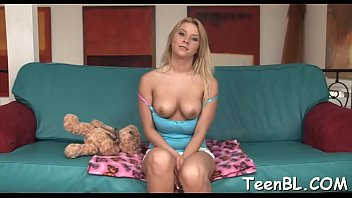 on jizz face her Bi teens outdoor