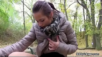 girl in fucked public t Beauty acquires cumshot on her tits with joy