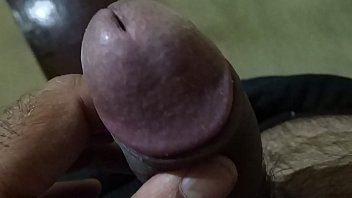 own feed cum5 Shemale makes guy suck her dick