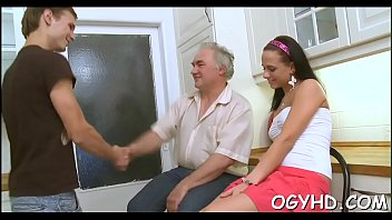 playing young women old with men Straight man forced jerk