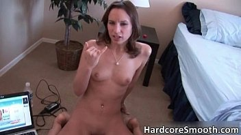 her lilith floor with slut superb babefriend brunette the on Dad with homemade