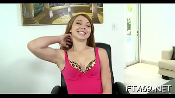 casting pigtail shy teen french Beam head mounted dildos