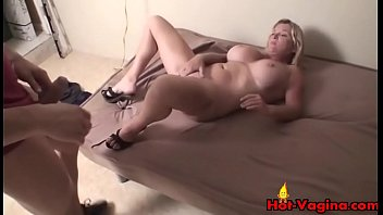 and posh facial creampie2 gets blonde Wife playing strip poker