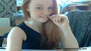 toy her plays redhead with czech Breeding fertile wife