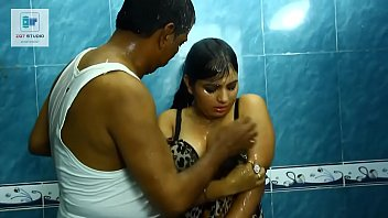 naite indian sex in Hot threesome inside the wc