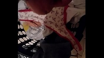 panties in caned silky Strapon hard slut