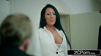 boss lesbian interview office by Teacher forced to squirt