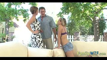 mom dad daughter catches Monster dick gay solo