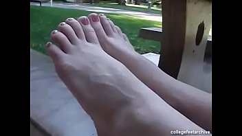 sasha foot grey Milfs taking good care of each other