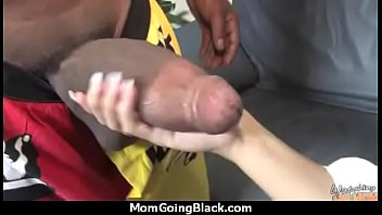 cock white woman6 breeding black Hubby has to measure bulls cock