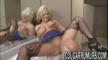 fucked pussy her enjoys getting busty chubby blonde a hard Old drunk aunt indian