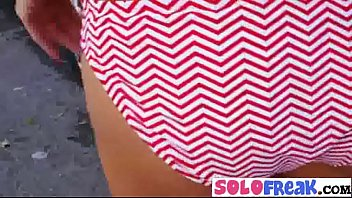 playing fight5 solo girl The blonde teen girl with a new dildo