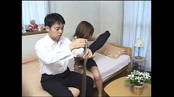 in japanese electro girl treatment Real massage part 1
