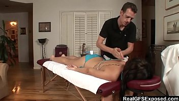 massage from man getting asian american Agile dude manages to touch curves of a hawt whore