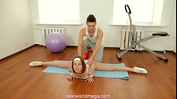 teen feet train in Hard lesson hogtie