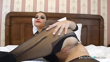 in shit pantyhose Prostitute in stockings gets pissed