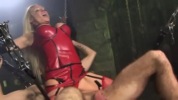 with mistress her fucks slave Gives her dad a blowjob