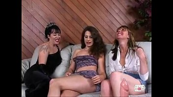 man strapon trio Step sisters first anal10