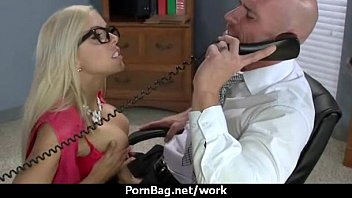big office girl boobs Flower tucci wsubmassive5