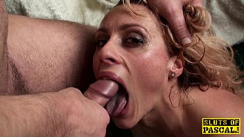 submission gag wife blond And twins son