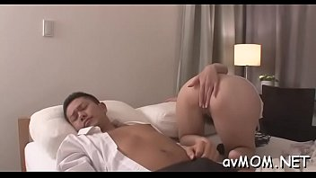 asian pie loudly cuttie them fucking sucking Charming babe is fucked zealously doggy style