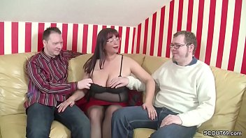 threesome boys young Hunk forced to strip