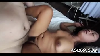 train beside girl sleeping asian on fucked mom Tall big ass small tirs