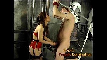 to fucked 2016 by laine tied machine and charlie bed Strap on lesbians cd1clip1