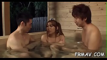 japanese hentai self Wife shared with hubbys friends big dicks creampie mmf