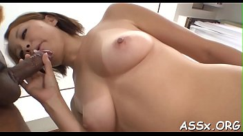 12inches moan asian hard anal Father house girl