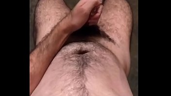 uncut hairy cum Edging by klixen