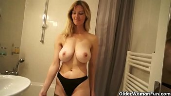 self squirt mom Japanese mother lessons son3