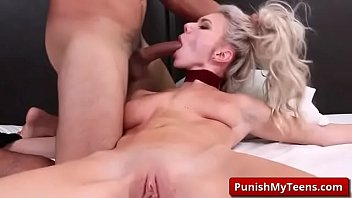 own cum5 feed Lesbian domme giving her tied up girlfriend a man