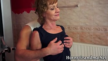 orgasm very old lady has Jennifer dark the ball is in her cunt 42