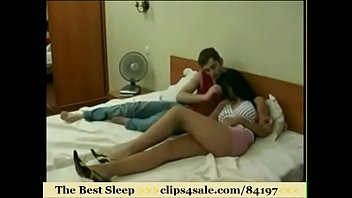 sleeping wake up and while fucks Expose wife stranger
