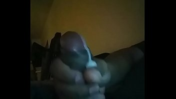 guys swallowing cum shemale Daddy fingering boy on his knees