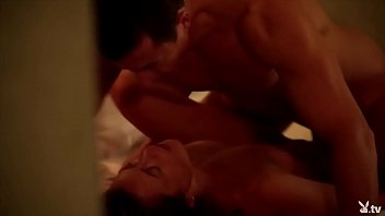 7lives xsposed playboy tv Ass traffic loz sucks two cocks at once has anal and swallow