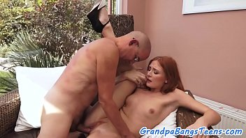 sex grandpa privet Horny beauty gets pissed on by tw