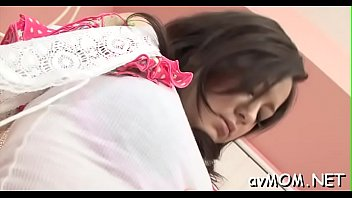 balls while doggy she squeezing is Japanese md part 2