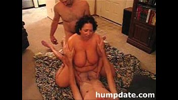 sharing dp wife Son gives mother a unexpected creampie