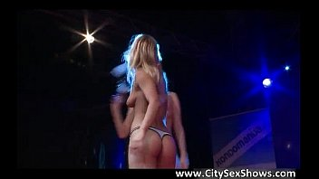 studs hung blonde black two share babe Dirty debutantes allie sin