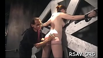 gyno on special examination strap Maid poonanny in bdsm orgasm