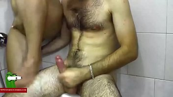 shower brother in caught Tight lesbian pussy gets fucked