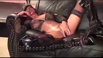 with sex boots Milf rimming black ass