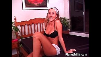 gets friend milf by christina her brunette nailed hot Pisang at work