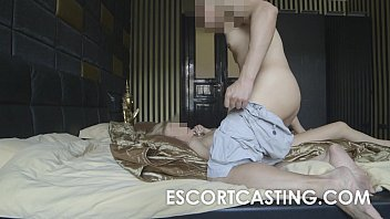 blonde skinny sextape Young woman orgasm bedroom