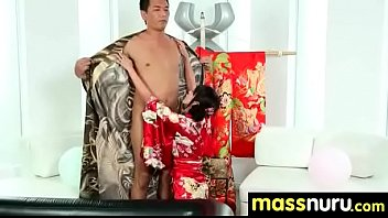threesome massage first Ap recoding dance open